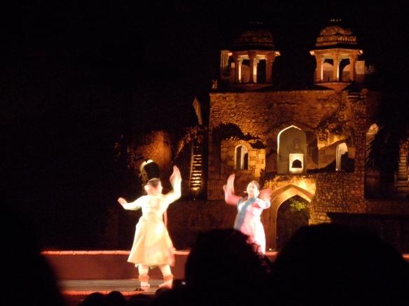 Spectacle de danse d'Inde du Sud au vieux fort (Purana Qila)