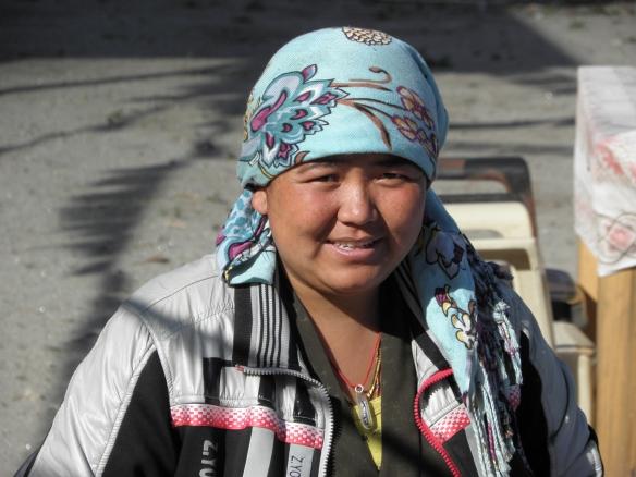 Neema, gérante de la Pema guesthouse.