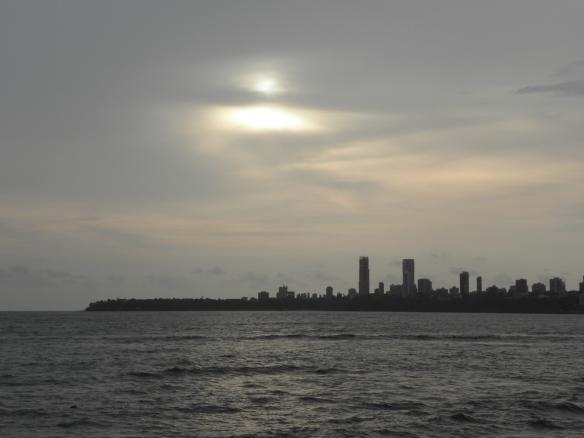 Dernier jour en Inde, Marine Drive, Bombay